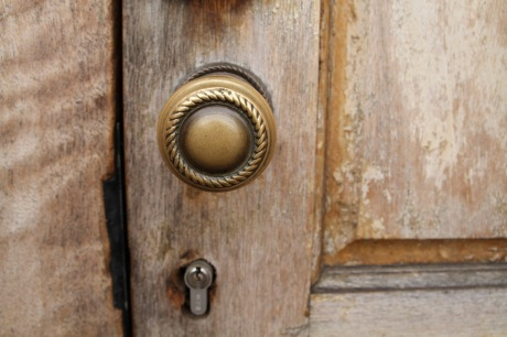 Unlocking the door to social change. Image by Clare Barton