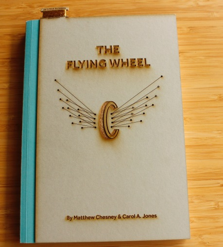 """""""The Flying Wheel"""" publication about the Samuel Morley Programme. Image by Traci Kelly."""